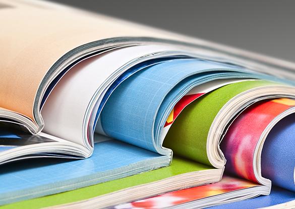 wydruk katalogów i materiałów reklamowych